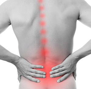 ont i ryggen behandling
